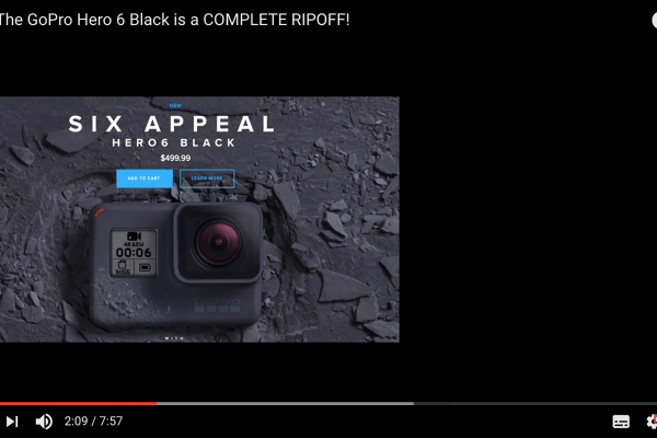 Why GoPro does not seem interested in exporting their cameras