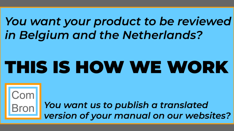 You want your product reviewed? You want your manual translated?